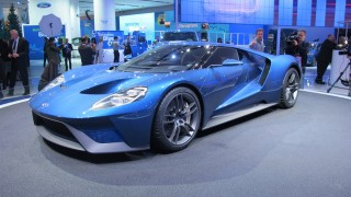 The star of this year's North American Auto Show in Detroit was undoubtedly the 2016 Ford GT supercar.