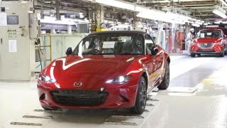 Mazda MX 5 production