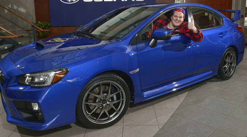 Subaru scavenger hunt awards