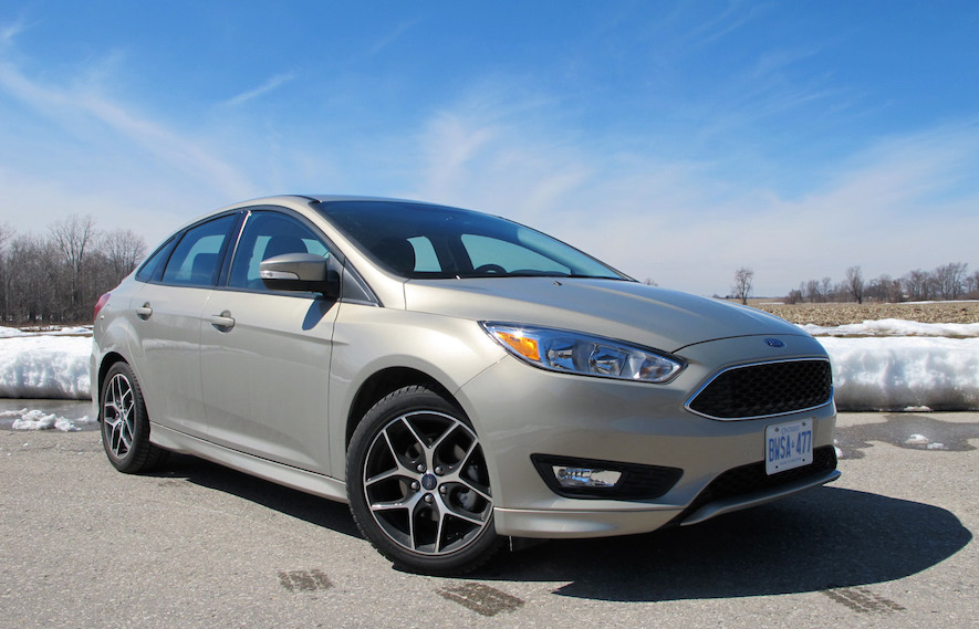 Ford Focus SE 2015 front