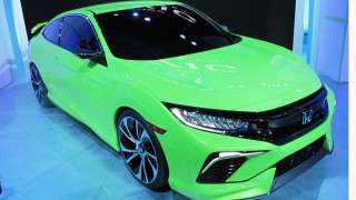 Honda Civic Concept at the New York Auto Show