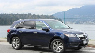 2015 Acura MDX Elite front view