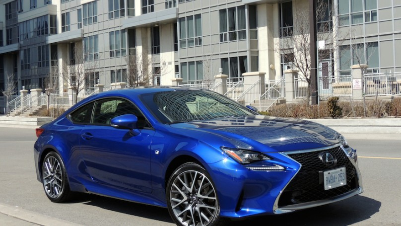 Captivating 2015 Lexus RC 350
