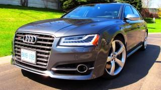 Audi S8 2015 front