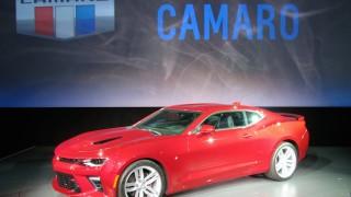 Camaro 2016 world reveal