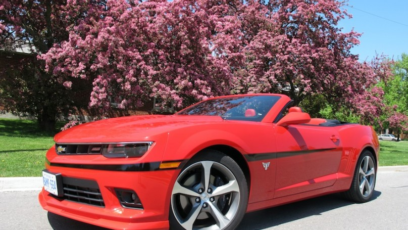 2015 Chevrolet Camaro Ss Convertible Review Wheels Ca