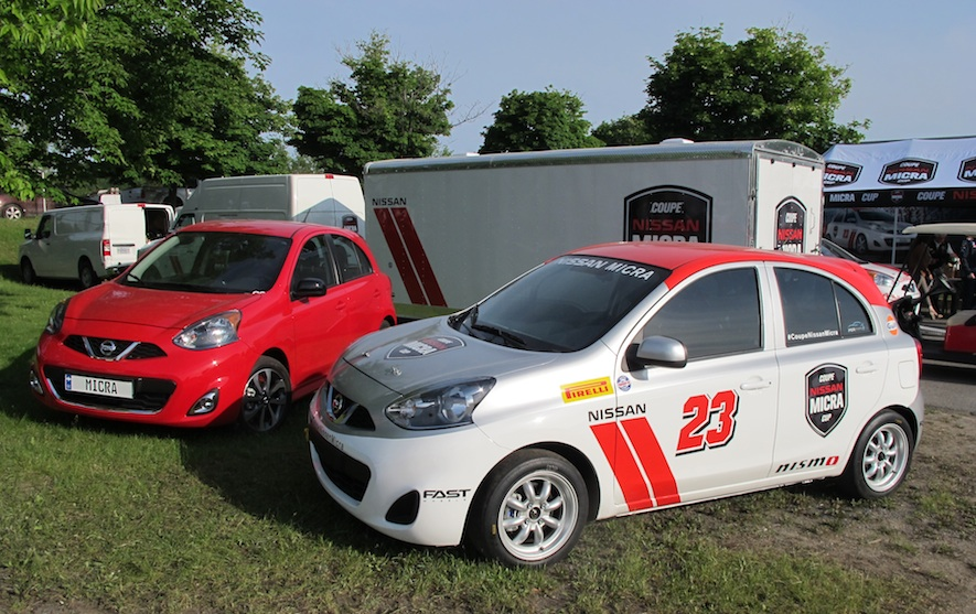 Alta Nissan Richmond Hill >> The Nissan Micra Cup at the Montreal Grand Prix – WHEELS.ca