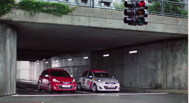 Nissan Micra commercial