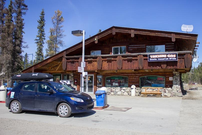 Yukon road stop