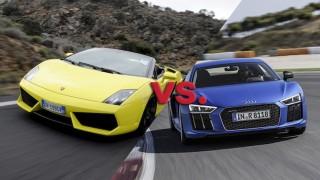 Lamborghini vs Audi R8