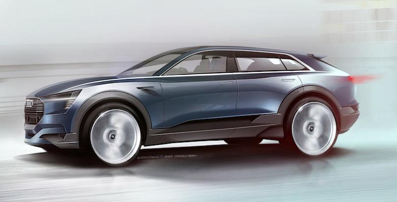 Audi concept at Frankfurt