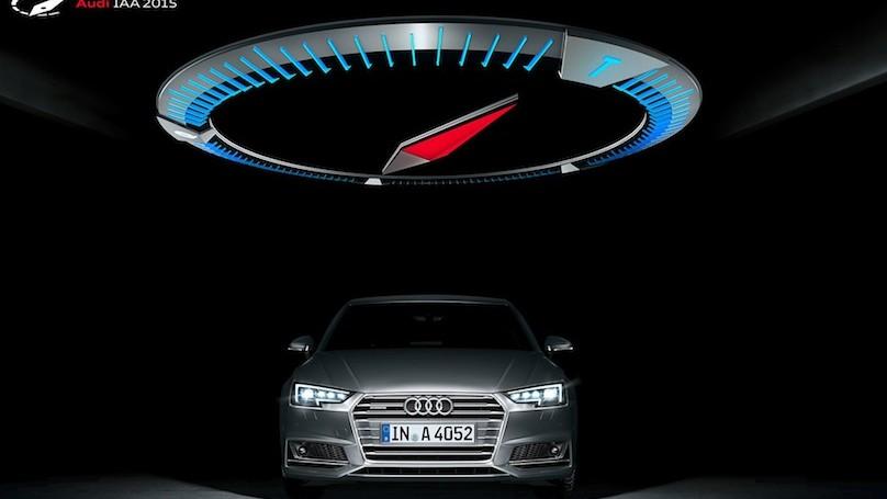 Audi display at Frankfurt