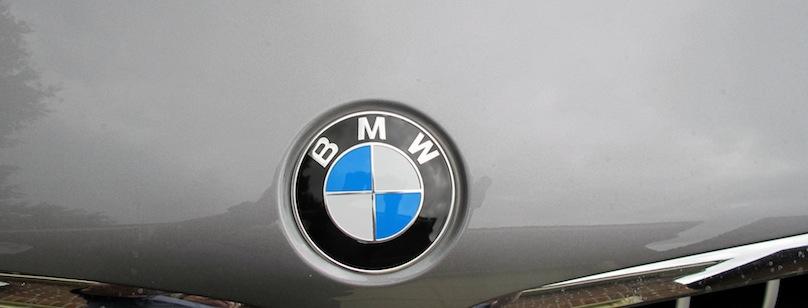 BMW X6 2015 badge