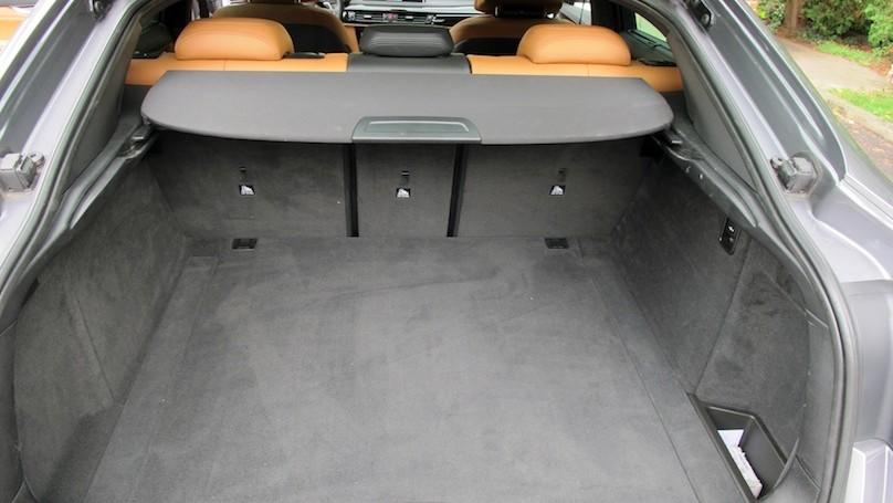 BMW X6 2015 cargo