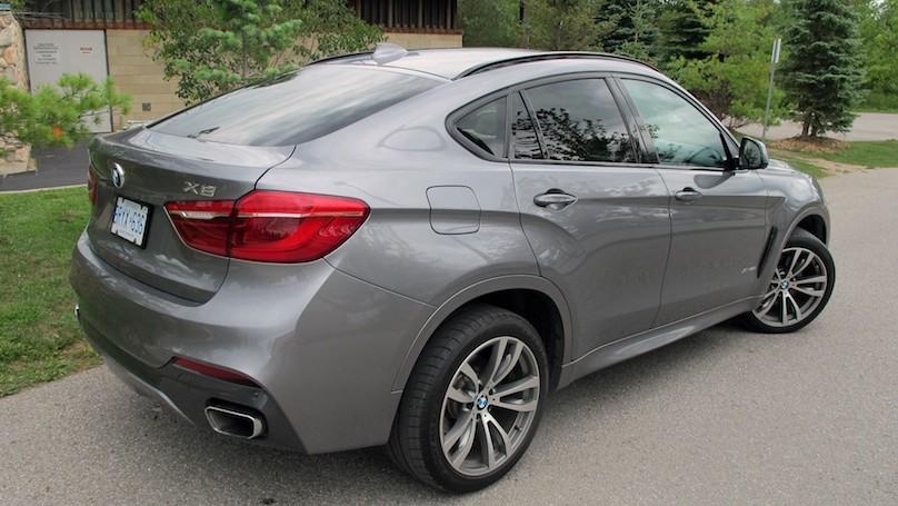BMW X6 2015 rear