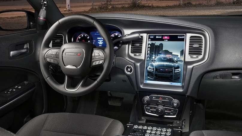 2016 Dodge Charger Pursuit's all-new and segment's largest U
