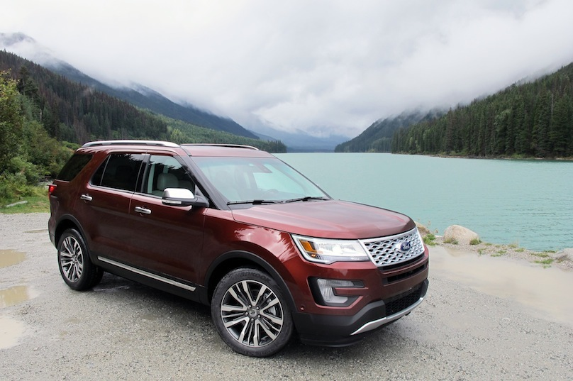 2016 Ford Explorer Platinum Suv Review Wheels Ca