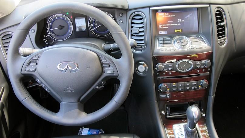 Infiniti QX50 2016 interior