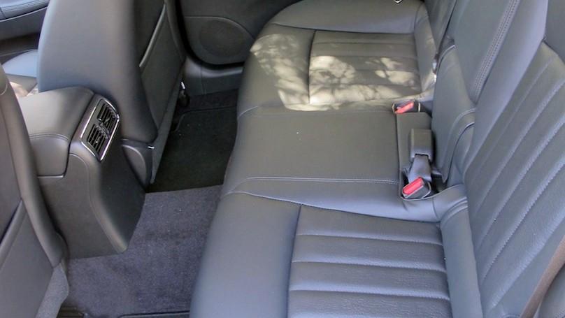 Infiniti QX50 back seat