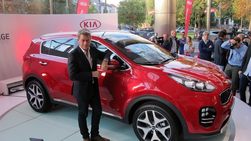 KIA Sportage world revel