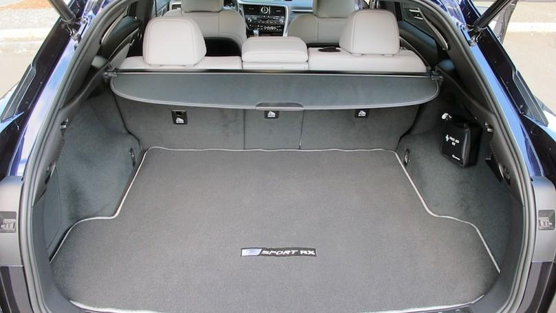 Lexus RX 2016 cargo