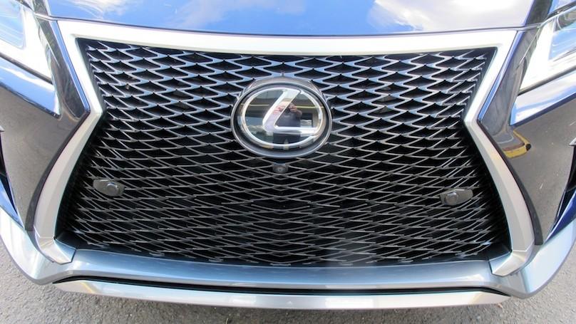 Lexus RX 2016 grille