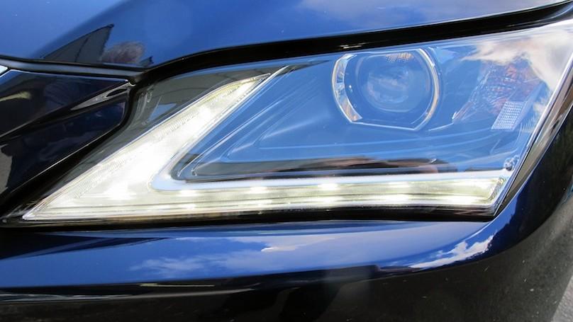 Lexus RX 2016 lighting