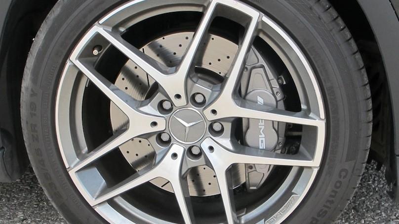 M-B GLA 45 wheels