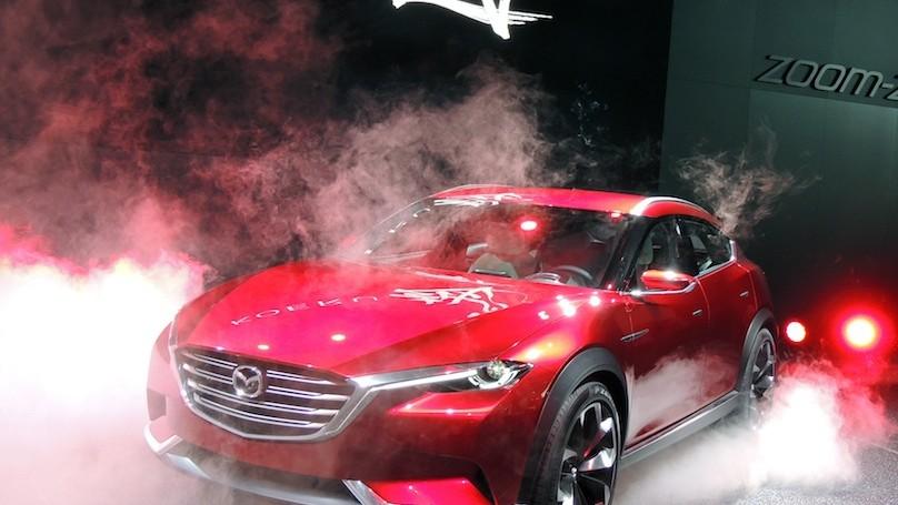 Mazda Koeru - smoke
