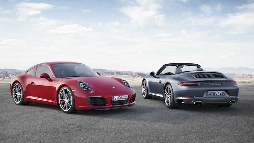 New Porsche 911 Carrera