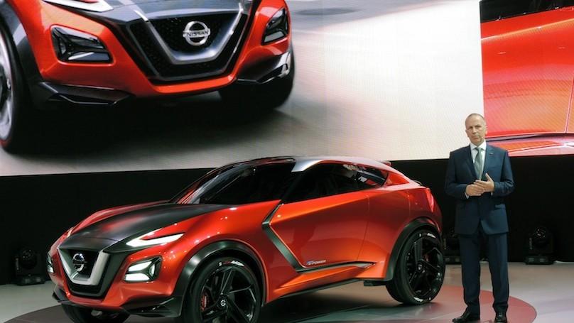 Nissan Gripz - front