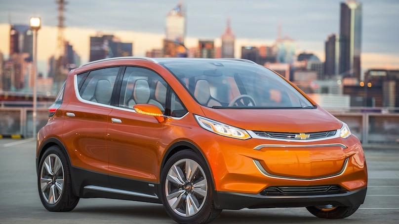 2015 Chevrolet Bolt EV Concept all electric vehicle – front ex