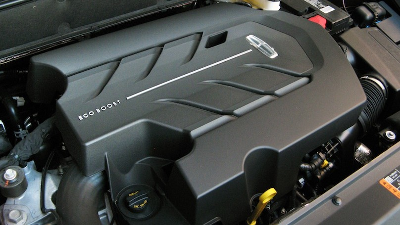 Lincoln MKX 2016-engine
