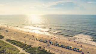Myrtle Beach South Carolina aerial view
