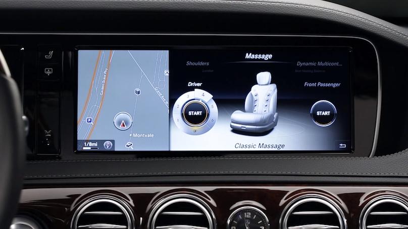 Mercedes massage