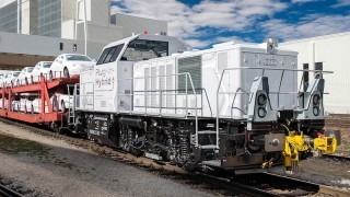 Audi hybrid locomotive