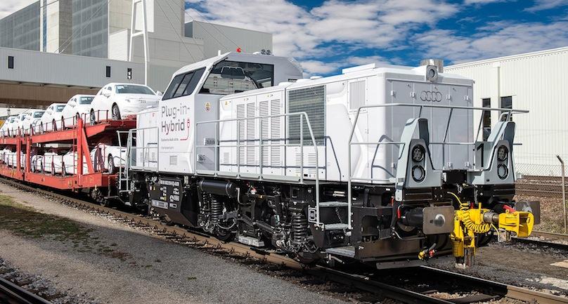 Audi hybrid locomotive