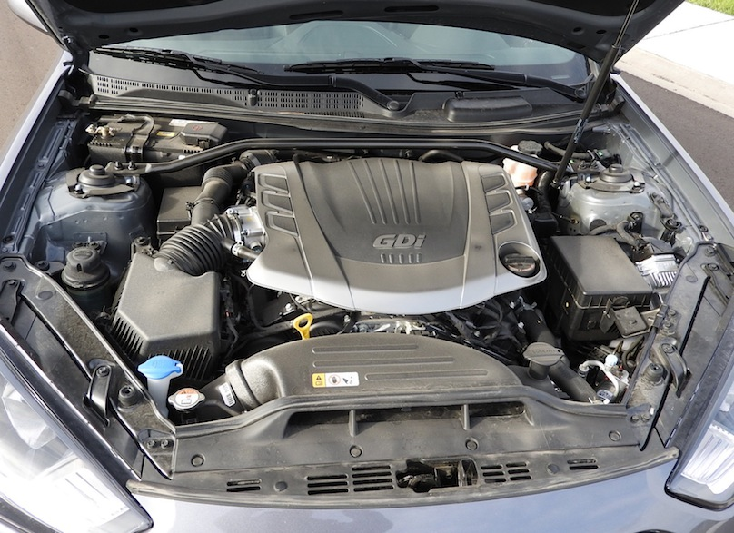 2015 Hyundai Genesis Coupe R Spec Engine