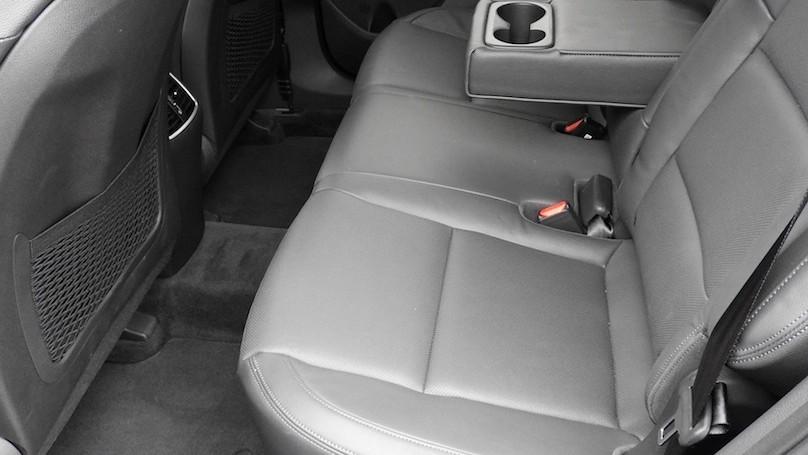 Hyundai Tucson 2016 backseat