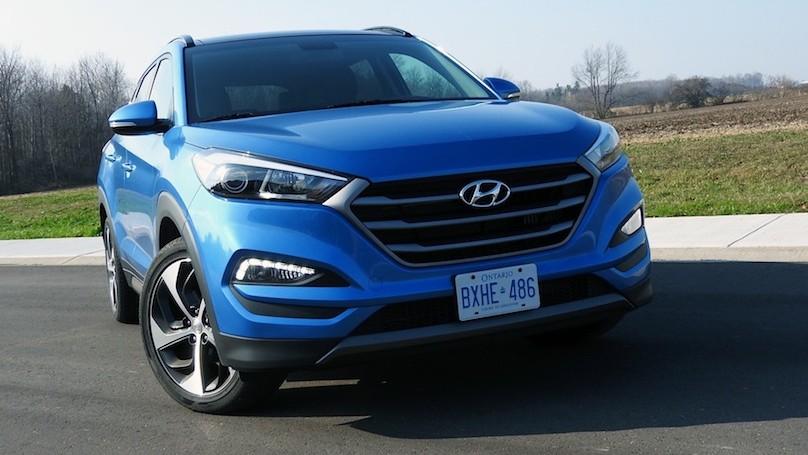 Hyundai Tucson 2016 front