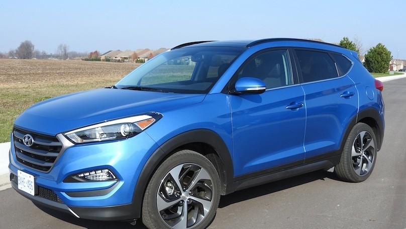 Hyundai Tucson 2016 main 2