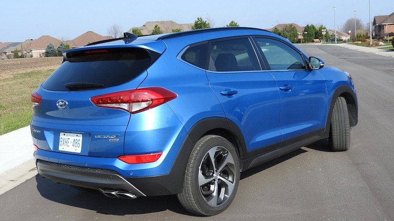 Hyundai Tucson 2016 rear