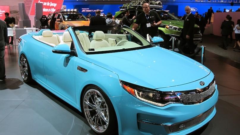 Kia Optima show car
