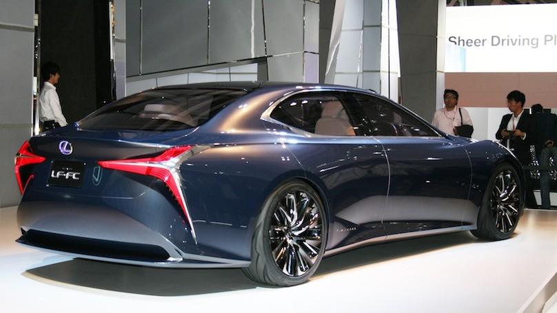 Lexus concept at Tokyo