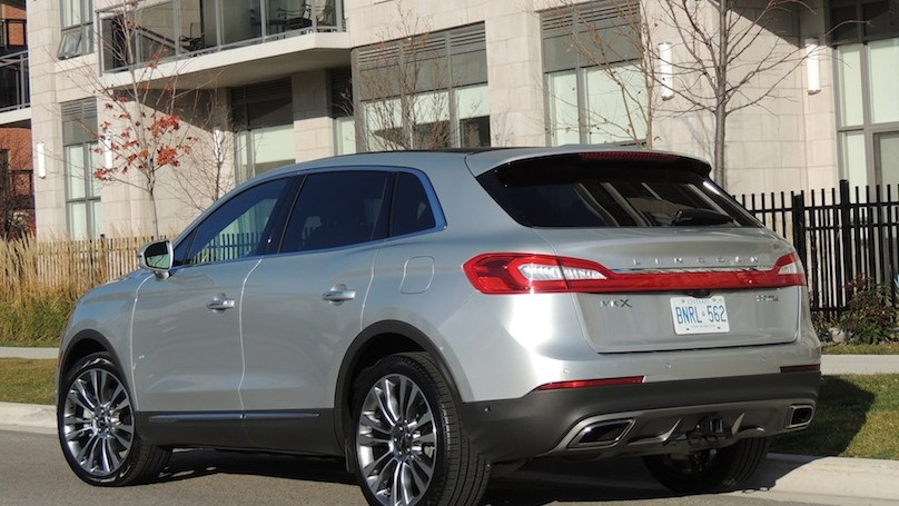 Lincoln MKX 2016 - rear