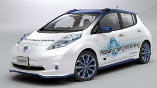 Nissan Piloted Drive Prototype Vehicle