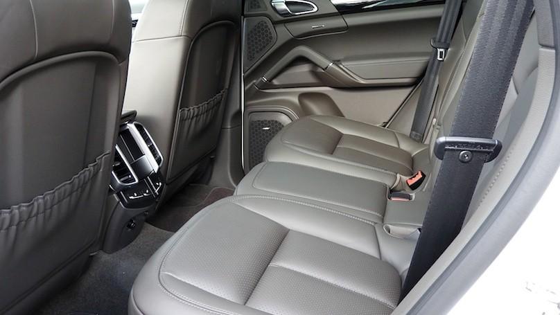Porsche Cayenne S E-Hybrid backseat