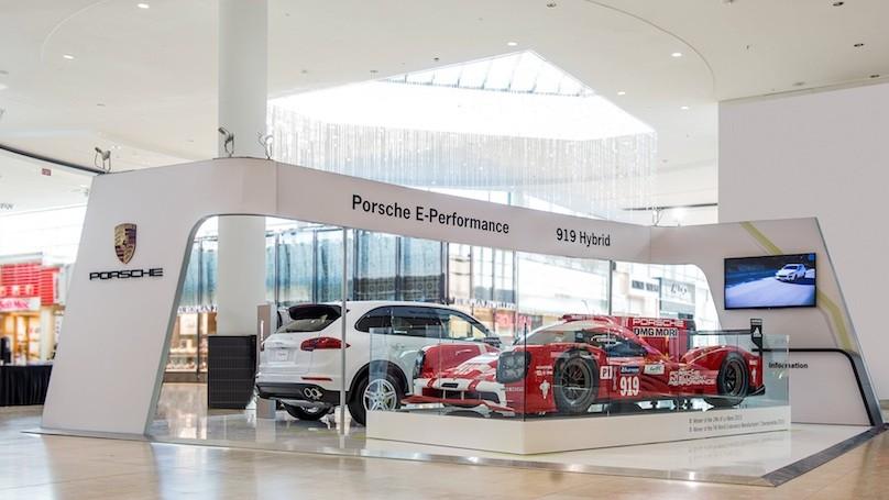 Porsche e-Performance tour