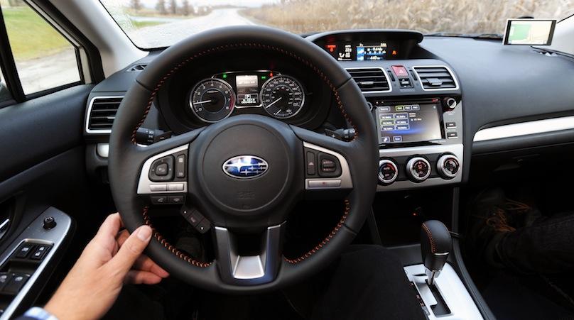 Subaru Crosstrek 2016-interior