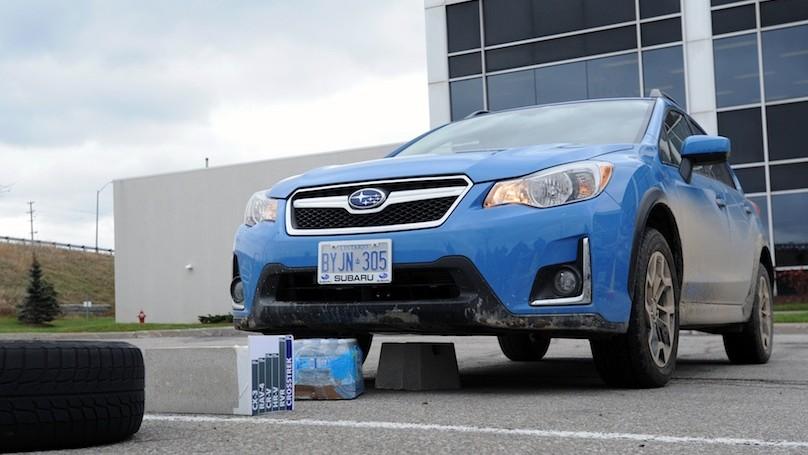 Subaru Crosstrek 2016-obstacles